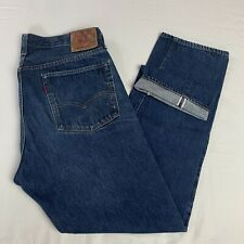 Levis Vintage Clothing 501z XX SELVEDGE MADE IN USA 38 X 34 Medium Wash Big E