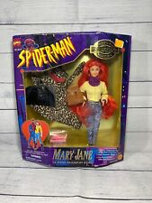 "Marvel Toy Biz Spiderman Mary Jane 12"" Fashion doll action figure 1995 NEW"