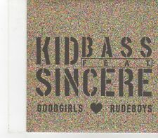 (FX159) Kid Bass Feat Sincere, Goodgirls Rudeboys - 2008 DJ CD