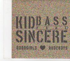 (FX159) Kid Bass Feat Sincere, Goodgirls Rudeboys - 2008 DJ CD
