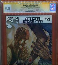 Amazing Spider-Man #4. CGC SS 9.8 Sign Dan Slott, Humberto Ramos, Delgado