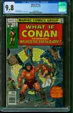 What If 13 CGC 9.8 Conan walked earth today John Buscema 2/1979 White Pages