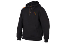 New Fox Collection Black Orange Hoodie Hoody Jacket All sizes Carp Fishing