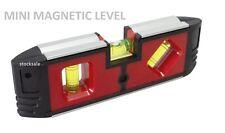 "6"" MINI MAGNETIC SPIRIT LEVEL CARPENTERS LEVELLING MEASURE ANGLES  POCKET LEVEL"