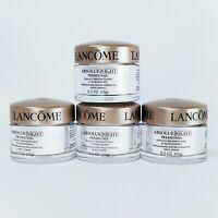 Lot of 4 Lancome Absolue Night Premium Night Cream ~ .5 oz x 4