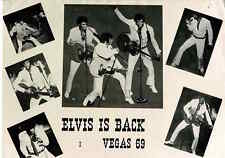 Publicity Photo/Still: ELVIS PRESLEY - Elvis Is Back Vegas 69 1