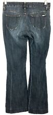 Guess Jeans Womens 26 Aliso Ultra Flare Dark Cotton Stretch Actual Size 27 x 32