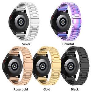 Three Beads Steel Watch Strap for Samsung Galaxy Watch4 Samsung Watch4 Classic