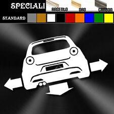 adesivo sticker alfa romeo MITO tuning down-out dub prespaziato,auto decal