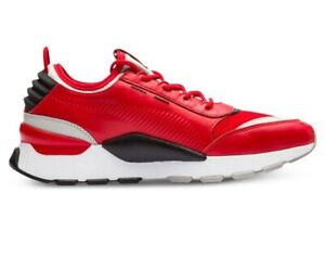 Puma RS-0 Sound High Risk Red Gray Black 366890 03 Mens Casual Sneakers