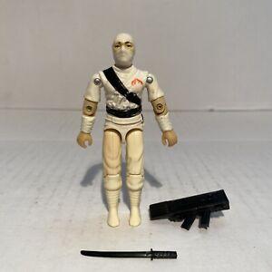 Vintage GI Joe Storm Shadow Action Figure w/ Some Accessories 1984 Hasbro