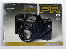 Yashica FR I originale Bed-anleitung , operating instructions