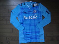 Olympique Marseille 100% Authentic Techfit Jersey Shirt 2010/11 Away L NWT[1535]