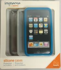 Griffin Immerse Silicone Case 3 Pack Apple iPod Touch 2nd Generation Lot of 4