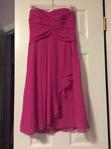 David's Bridal, short gown, size 0, Pink, teen, adult