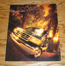 Original 2000 Ford E-Series Econoline Foldout Sales Brochure 00