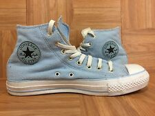 RARE🔥 Converse Chuck Taylor Hi Fleece Baby Blue Plush Textile 8 Men - 10 Women