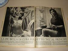 CHELO ALONSO clipping ritaglio articolo photo foto=ANNI '50=78