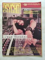 RIVISTA PSYCHO N. 1 GENNAIO 1997 DREAM THEATER JASON BECKER ANATHEMA MALMSTEEN