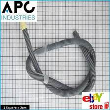 ELECTROLUX WASHING MACHINE DRAIN OUTLET HOSE 90 DEGREE BEND 30MM X 22MM 2.4M