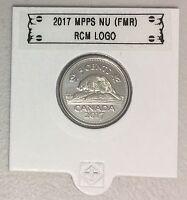 CANADA 2017 New 5 cents NO Circulation ORIGINAL BEAVER (UNC From mint set roll)