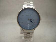 Authentic Skagen SKW2416 Anita Powder Blue Dial Women's Watch