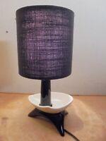 Céramique Vintage 60 Lampe Moderniste Tripode forme libre DLG Vallauris Capron
