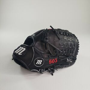 "Marucci Youth Black Honor The Game Series 12"" Glove Web Pitcher Infield RHT"