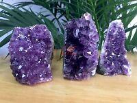 1 Amethyst Cluster Geode Crystal Quartz Cut Base Amethyst Specimen Uruguay Reiki