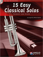 15 Easy Classical Solos for Trumpet & Piano