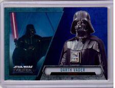 DARTH VADER 2016 Topps Star Wars Evolution Base Card PURPLE SP Parallel #7