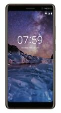 SIM Free Nokia 7 Plus 6 Inch 24MP 64GB 4GB 4G Mobile Phone - Black/Copper