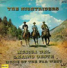 """THE NIGHTRIDERS - MUSICA DEL LEJANO OESTE LP DOUBLE 12"""" SPAIN 1973 GOOD CONDITIO"""