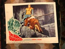 """The Human Duplicators 1964 Woolner Brothers horror lobbycard Richard """"Jaws"""" Kiel"""