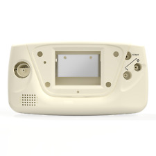 Game Gear Shell Case Sega Cream White New Replacement RetroSix ABS