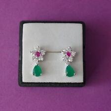Unbranded Beauty Ruby Fine Earrings