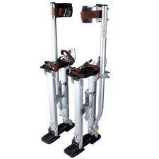 "24-40"" Drywall Stilts Adjustable Height Aluminum Tool Painting Painter Taping"
