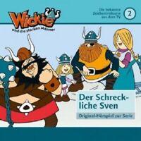 WICKIE UND DIE STARKEN MÄNNER - FOLGE 2: DER SCHRECKLICHE SVEN  CD 9 TRACKS NEU