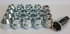 16 X M12 X 1.5 OPEN END WHEEL NUTS & LOCKING FIT MITSUBISHI L300 L400 2 WHEEL DR