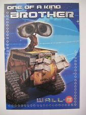 SUPER ONE OF A KIND BROTHER WALL-E ACTIVITY BIRTHDAY GREETING CARD