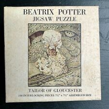 "1973 Beatrix Potter Jigsaw Puzzle Tailor of Gloucester 100pcs 7.5""x7.5"""
