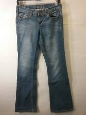 Vanity Brand Women's Jeans - Medium/Light Wash Boot Cut - 27W/33L