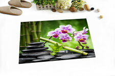 Bamboo Zen Flowers SPA Floor Memory Foam Home Carpet Rug Non-slip Door Bath Mat