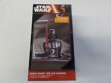 STAR WARS DISNEY THINKGEEK DARTH VADER USB CAR CHARGER NEW NWT