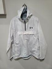 Under Armour Men's Anorak Jacket With Pocket White Size Large