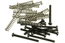 12 Pack of Humbucker Pickup Mounting Screws With Springs Black Finish