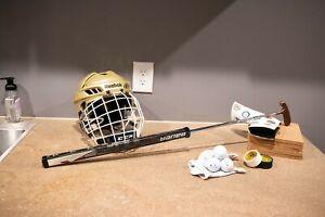 """Titleist Bullseye / Bauer APX2 34"""" Golf Putter / Hockey Stick RARE One Of A Kind"""