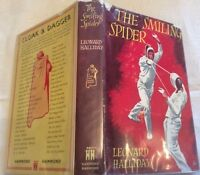 Leonard Halliday The Smiling Spider 1st Ed in D/J