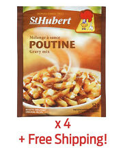 4 Pack of Authentic St-Hubert Poutine Sauce Gravy - From Québec + Free Shipping!