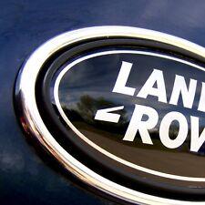 Chrome oval arrière badge surround pour range rover L322 vogue autobiogrpahy hse V8